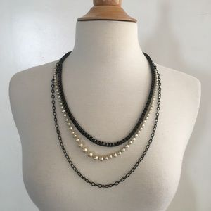 J.Crew Link Layered Necklace